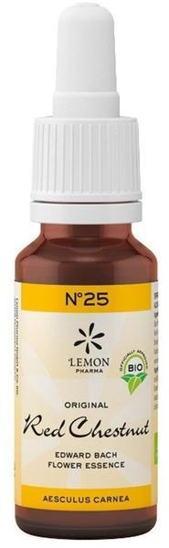Lemon Pharma Bachblüten No. 25 Red Chestnut Tropfen (20ml)
