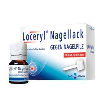 Loceryl Nagellack Direkt-Applikator (2,5ml)