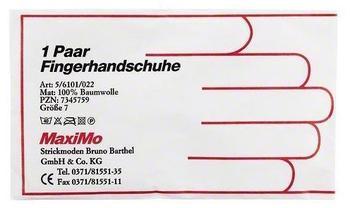 Strickmoden Bruno Barthel GmbH & Co KG HANDSCHUHE Strick Baumwolle Gr. 7 dünn 2 St