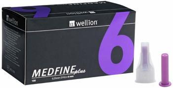 Wellion Medfine plus Pen-Nadeln 6 mm 31G (100 Stk.)