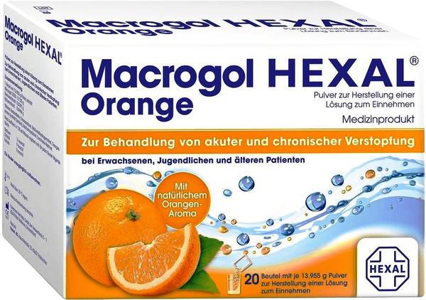 Hexal Macrogol HEXAL Orange 20 St.