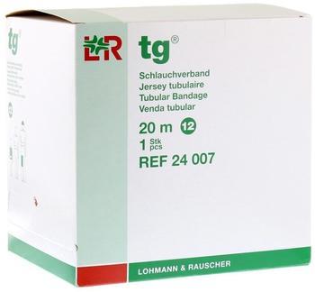 Lohmann & Rauscher TG Schlauchverband Weiß 20 m Gr. 12