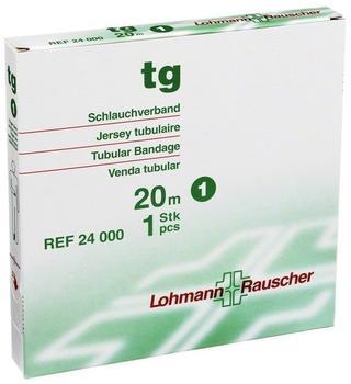 Lohmann & Rauscher TG Schlauchverband Weiß 20 m Gr. 1