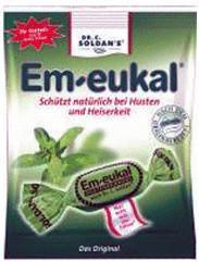 Soldan Em-eukal Klassisch zuckerhaltig Bonbons (150 g)