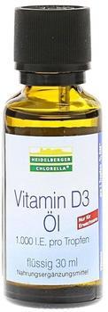 Heidelberger Chlorella Vitamin D3 Öl Tropfen (30ml)