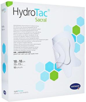 Hartmann HydroTac Comfort Sacral Schaumverband 10 x 20 cm steril (10 Stk.)