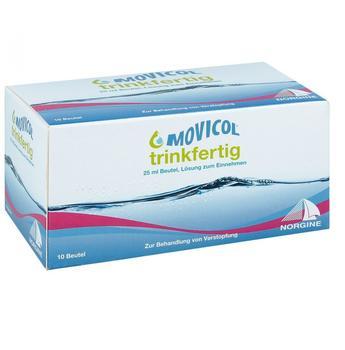 Movicol trinkfertig 25 ml Beutel Lösung zum Einnehmen (10 Stk.)