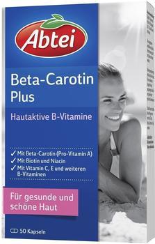 Abtei Beta-carotin Plus Hautaktive B-Vitamine Kapseln (50 Stk.)