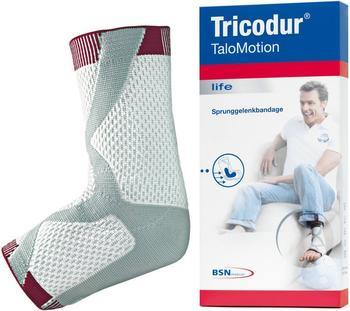BSN Medical Tricodur TaloMotion rechts wei0ß/grau/rot Gr. 3 / M