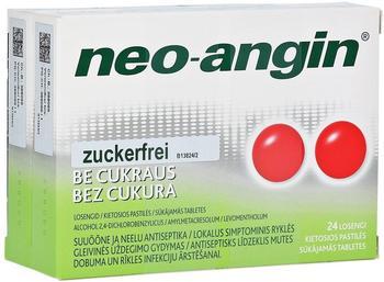 Pharma Gerke Arzneimittelvertriebs GmbH NEO ANGIN Halstabletten zuckerfrei