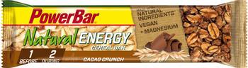 NEC MED PHARMA GMBH POWERBAR Natural Energy vegan Cer.Cacao Crunch