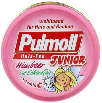 Pulmoll Junior Hals-Fee Bonbons Himbeer mit Echinacea zuckerfrei (50 g)
