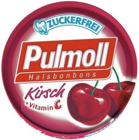 Pulmoll Hustenbonbons Kirsch + Vitamin C zuckerfrei (50 g)