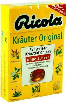 Ricola Kräuter Bonbons ohne Zucker Box (50 g)
