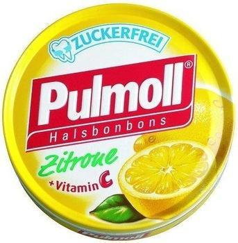 Pulmoll Hustenbonbons Zitrone + Vitamin C zuckerfrei (50 g)