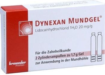 Dynexan Mundgel Zylinderampullen (2x1,7g)