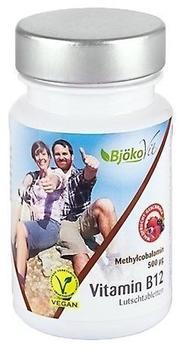 BjökoVit Vitamin B12 vegan Lutschtabletten