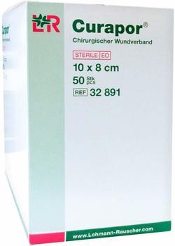 Lohmann & Rauscher Curapor Wundverband steril 10 x 8 cm (50 Stk.)