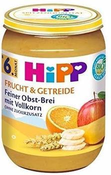 Hipp Frucht & Getreide Feiner Obst-Brei mit Vollkorn (190 g)