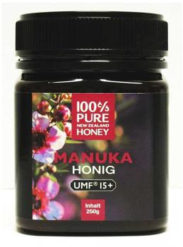 100% Pure New Zealand Manuka Honig 15+ (250g)