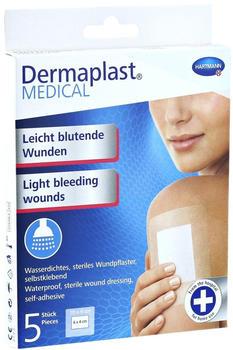Hartmann Dermaplast MEDICAL Wundpflaster wasserdicht 9 x 10 cm (5 Stk.)
