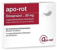 Inter Pharm Arzneimittel GmbH OMEPRAZOL IPA 20 mg magensaftresistente Hartkaps.