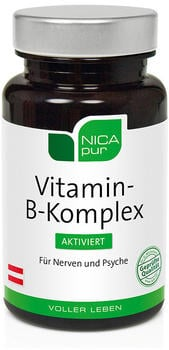 Nicapur Vitamin B-Komplex aktiviert Kapseln (60 Stk.)