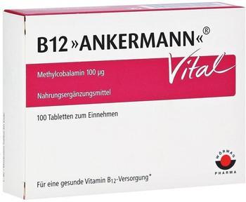 Wörwag Pharma B12 Ankermann Vital Tabletten (100 Stk.)