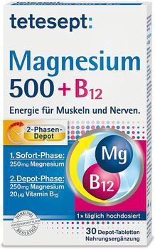 Merz Consumer Care GmbH tetesept Magnesium 500 + B12 Depot