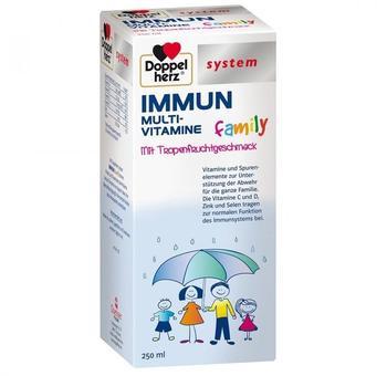 Doppelherz system Immun Multivitamine family flüssig (250ml)