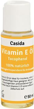 Casida Vitamin E Öl Tocopherol natürlich (50ml)