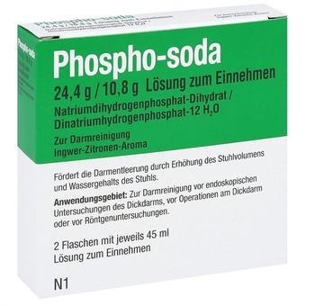 Phospho-soda 24,4g / 10,8g Lösung zum Einnehmen (2x45ml)