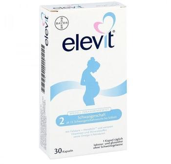 Bayer Elevit 2 Schwangerschaft Weichkapseln (30 Stk.)