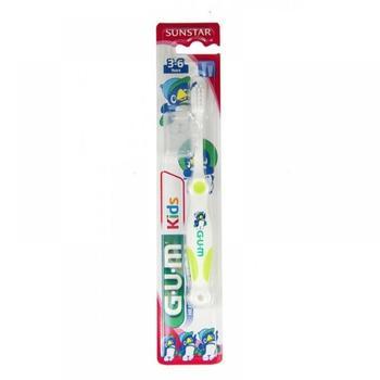 sunstar GUM Kids Monster Zahnbürste 3-6 Jahre