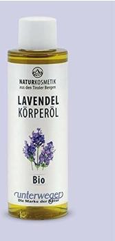 Grüner Pharmavertrieb Lavendel Körperöl Bio Unterweger (150ml)