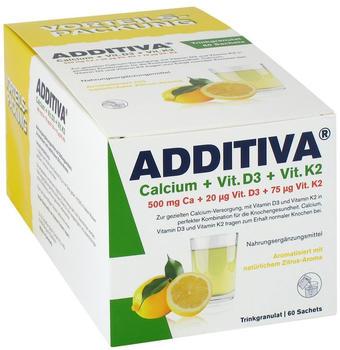 Rugard Cosmetics Additiva Calcium + D3 + K2 Granulat 60 St.