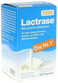 Pro Natura Lactrase 3.300 FCC Kapseln (300 Stk.)