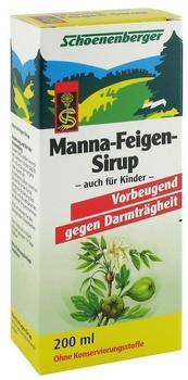 Schoenenberger Manna-Feigen-Sirup (200ml)