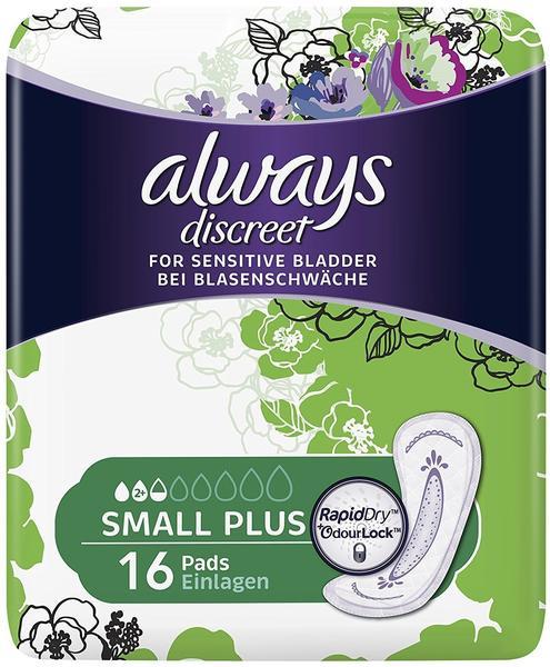 Always Discreet Inkontinenz Binden small plus (16 Stk)