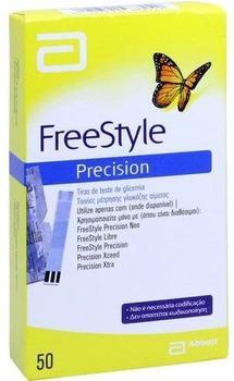 Kohlpharma Freestyle Precision Teststreifen ohne Codieren (50 Stk.)
