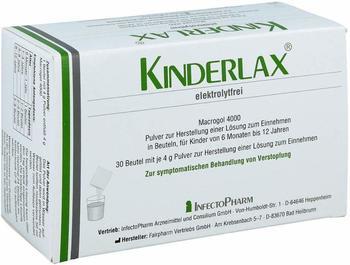 Kinderlax Elektrolytfrei Plv.z.H.e.L.z.Einn. (30 Stk.)