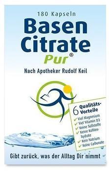 Madena Basen Citrate Pur nach Apotheker Rudolf Keil Kapseln (180 Stk.)