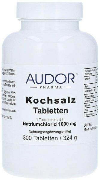 AUDOR PHARMA GMBH Kochsalz 1000 mg Tabletten