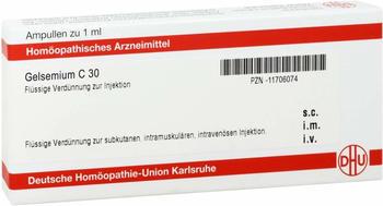 DHU Gelsemium C 30 Ampullen (8x1ml)