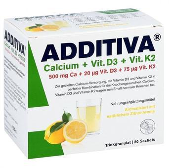 Rugard Cosmetics Additiva Calcium+D3+K2 Granulat
