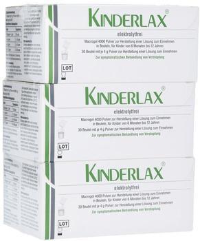 INFECTOPHARM Arzn u Consilium GmbH Kinderlax elektrolytfrei 3x30 St.