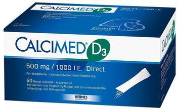 Calcimed D3 500 mg/1000 I.E. Direct Granulat (120 Stk.)