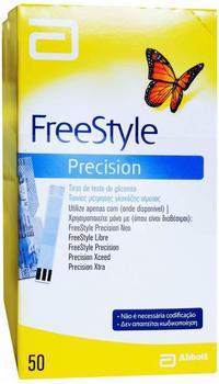 AxiCorp Freestyle Precision Blutzucker Teststrreifen ohne Codieren (100 Stk.)