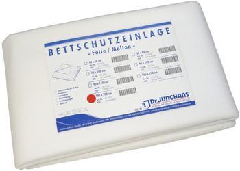 Dr. Junghans Medical Bettschutzfolie Molton 100 x 200 cm