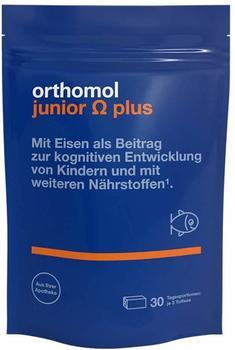 Orthomol Junior Omega plus Kaudragees (90 Stk.)